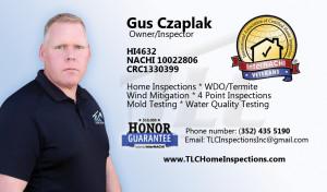 Gus Czaplak | Veteran Owner Inspector